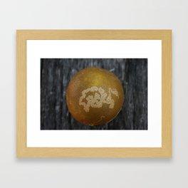 Orangesnake Framed Art Print