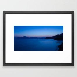 Night On The Black Sea Framed Art Print