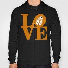 Robot LOVE - Orange Hoody