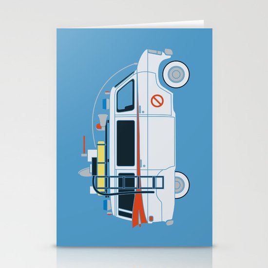 Ecto Van-1 Stationery Cards
