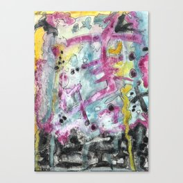 Abstract Art - Moving Canvas Print