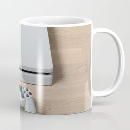 Sony PlayStation 4 Slim Glacier White gaming console Coffee Mug