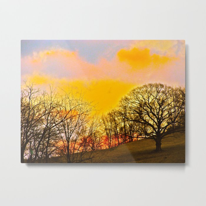 Feel the Sunrise Metal Print