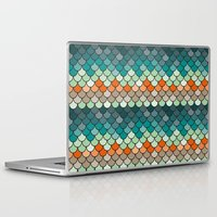 scales Laptop & iPad Skins featuring Scales by Pattern Design
