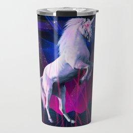 The last laser unicorn Travel Mug