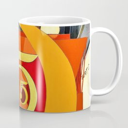 Charles Demuth - I Saw the Figure 5 in Gold - Digital Remastered Edition Coffee Mug