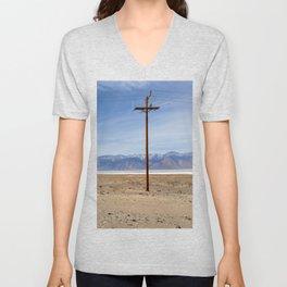 Lone Pine Deserts Unisex V-Neck