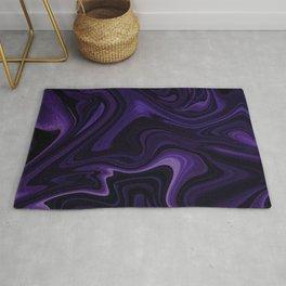 Purple liquefy Pattern Rug