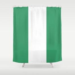 Flag of nigeria 2 -nigeria, nigerian,africa,hausa,igbo,Yoruba,Naira,Lagos,Kano Shower Curtain