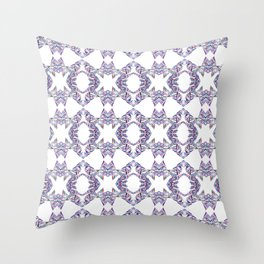LINEA 007 Abstract Collage Throw Pillow