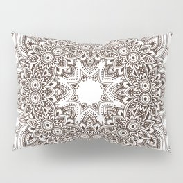 Mandala Bohemian Embellishments Medallion Pillow Sham