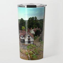 Church and Guildhall, Eye, UK Travel Mug