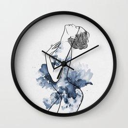 Flowery soul. Wall Clock