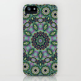 Nine Sided Paisley 2 iPhone Case