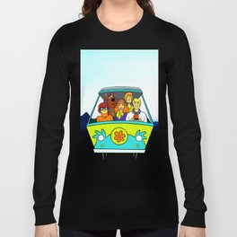 dog scooby Long Sleeve T-shirt