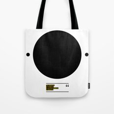 THE ABSENCE OF EVIDENCE Tote Bag