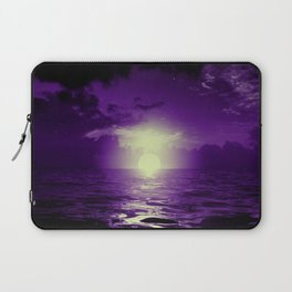 Purple cloud by #Bizzartino Laptop Sleeve