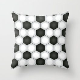 Goooooaaall Throw Pillow