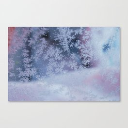 Frozen whispers Canvas Print