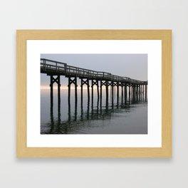 The Dock of the Bay Framed Art Print