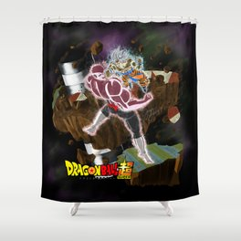 Goku vs Jiren Shower Curtain