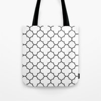 moroccan Tote Bags featuring MOROCCAN by natalie sales