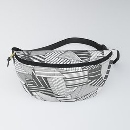 abstract crystal Fanny Pack