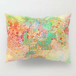 Pattern colored mosaics Pillow Sham
