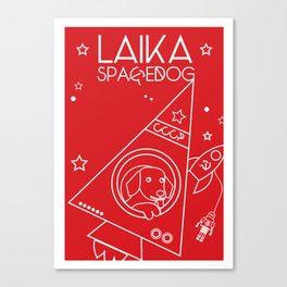 LAIKA Spacedog Canvas Print