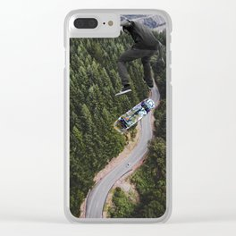 Jump higher Clear iPhone Case