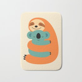 Stick Together Bath Mat