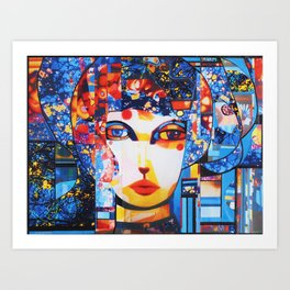 FLORA STUDY 4 Art Print