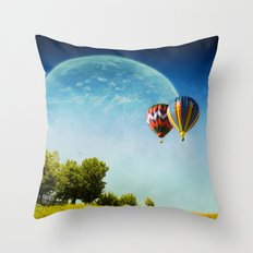 Dreamland Explorers Throw Pillow