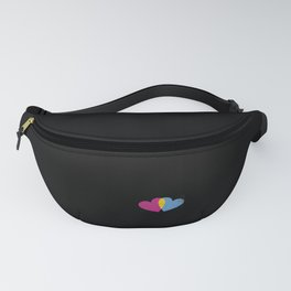 cool saying Pansexuality Pansexual LGBTQ LGBT design Fanny Pack