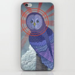 Great Grey Owl iPhone Skin