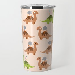 Volcanosaurus Travel Mug