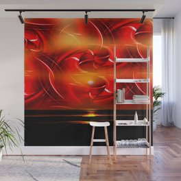Abstract perfection - Sunst Wall Mural