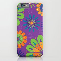 Psychoflower Purple iPhone 6s Slim Case