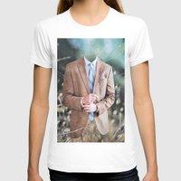 suit T-shirts featuring Suit by John Turck