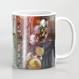 New York City Spill Coffee Mug