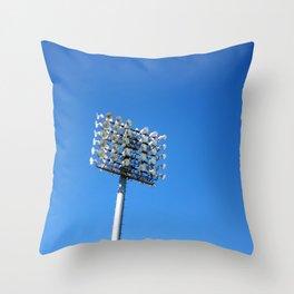 Stadium Lights Throw Pillow
