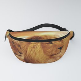 African lions Fanny Pack