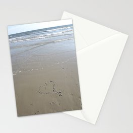 Heart in the Sand Stationery Cards