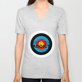 ARCHERY ADDICT Unisex V-Neck