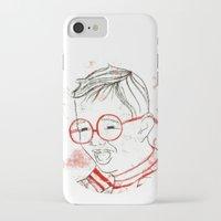 stripe iPhone & iPod Cases featuring stripe by Michela Buttignol