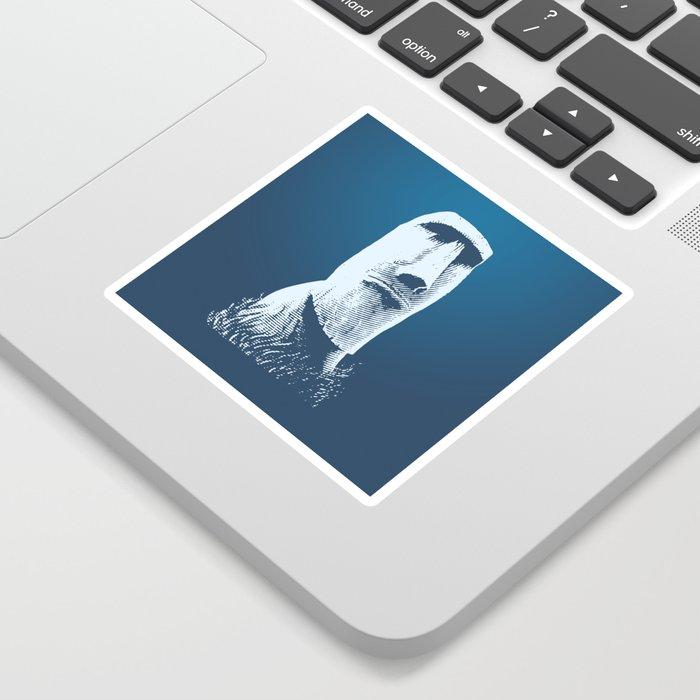 Moai #1 Sticker
