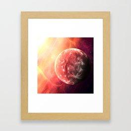 Planet Mercury Framed Art Print