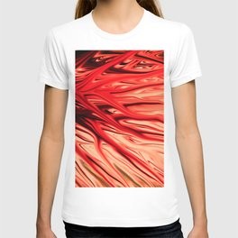 Strawberry Firethorn by Chris Sparks T-shirt
