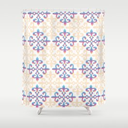 kazakh design Shower Curtain