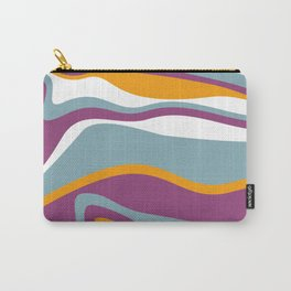 Pesto Blue, purple and orange Carry-All Pouch